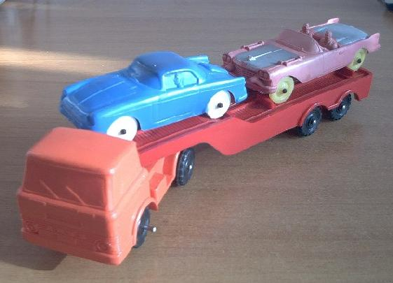 Other rubber cars