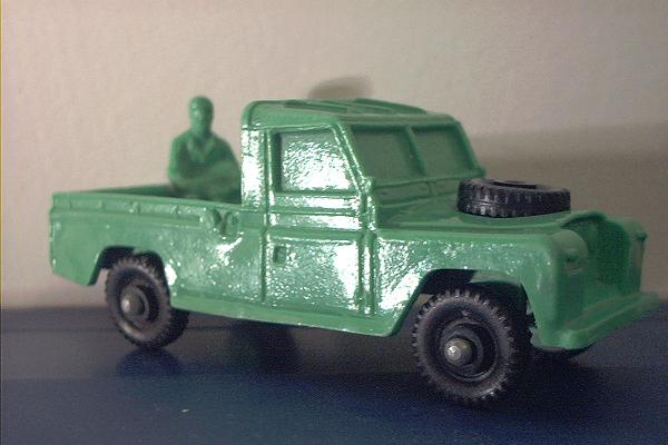 Tomte 23 Land Rover Pick Up